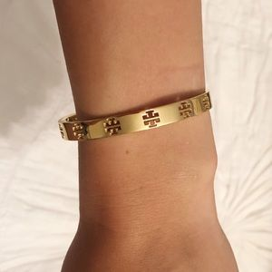 Tory Burch Gold Bangle Bracelet